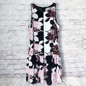 ANTHROPOLOGIE | Maeve photoflora printed dress